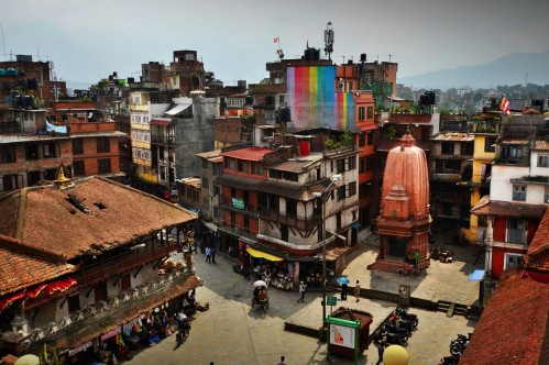 Kathmandu Durbar Square - photo by Renata Blonska