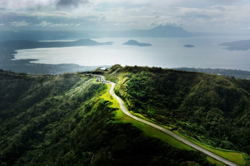 Taal Volcano and Tagaytay / view from the top - photo by Renata Blonska