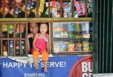 PHILIPPINES- A convenient store and its owners, Manila – photo by Renata Blonska