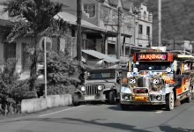 a Jeep and a Jeepney, the icon of Philippines transportation – photo by Renata Blonska