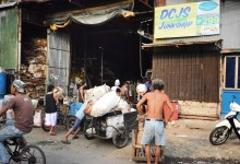one of many Junk Shops, quite a popular industry in Philippines – photo by Renata Blonska