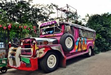 Jeepney, the icon of Philippines transportation – photo by Renata Blonska