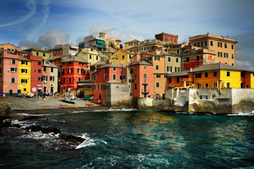 Boccadasse, Gulf of Genoa - photo by Renata Blonska