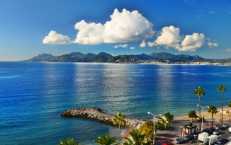 The coasts of French Riviera, Cannes - photo by Renata Blonska