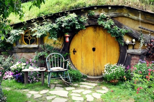 Hobbiton, Matamata New Zealand - photo by Renata Blonska
